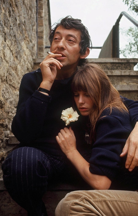 Jane+Birkin++Serge+Gainsbourg+flower